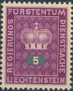 Liechtenstein 1950 Crown a