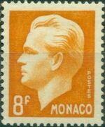 Monaco 1951 Prince Rainier III c