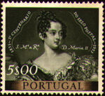 Portugal 1953 Centenary of Portugal's First Postage Stamp g