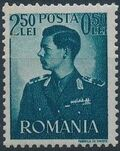Romania 1940 King Michael I - Semi-Postal (1st Group) b