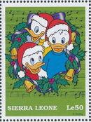 Sierra Leone 1997 Disney Christmas Stamps j