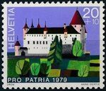 Switzerland 1979 PRO PATRIA - Castles a