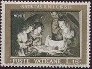 Vatican City 1960 Christmas b