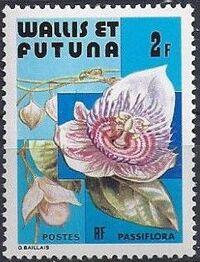 Wallis and Futuna 1982 Flowers b