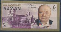 Ajman 1966 Winston Churchill o