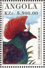 Angola 1996 Hunting Birds e