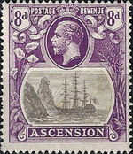 Ascension 1924 Seal of the Colony ic