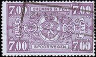 Belgium 1941 Railway Stamps (Numeral in Rectangle IV) q