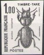 France 1982 Insects - Postage Due Stamps (1st Issue) j