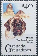 Grenada Grenadines 1993 Dogs f