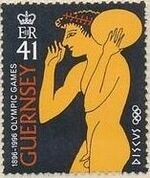 Guernsey 1996 Centenary of the Modern Olympic Games c