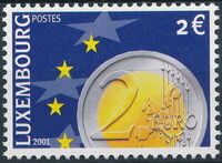 Luxembourg 2001 Euro-Coins f