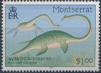 Montserrat 1994 Aquatic Dinosaurs a