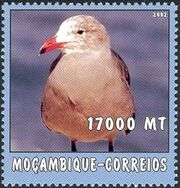 Mozambique 2002 The World of the Sea - Sea Birds 1 e