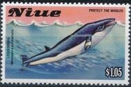 Niue 1983 Protect the Whales h