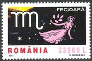 Romania 2002 The Signs of the Zodiac f