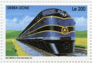 Sierra Leone 1995 Railways of the World k