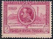 Spain 1929 Seville-Barcelona Exposition l
