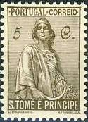 St Thomas and Prince 1934 Ceres - New Values b