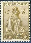 St Thomas and Prince 1934 Ceres - New Values r