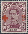 Belgium 1918 King Albert I (Red Cross Charity) f.jpg