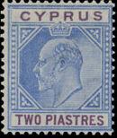 Cyprus 1904 King Edward VII c