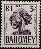 Dahomey 1941 Carved Mask j