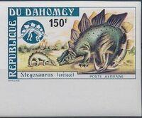 Dahomey 1974 Prehistoric Animals e