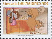 Grenada Grenadines 1988 The Disney Animal Stories in Postage Stamps 6i