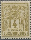 Luxembourg 1882 Industry and Commerce c