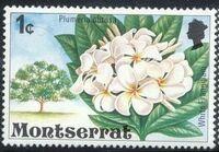 Montserrat 1976 Flowering Trees a