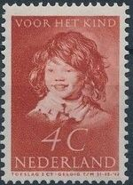 Netherlands 1937 The Laughing Child after Frans Hals c