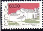 Portugal 1986 Portuguese Popular Architecture (2nd Group) c