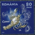 Romania 2011 Zodiac Signs (1st Group) d