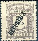 St Thomas and Prince 1913 Postage Due Stamps - 1st Overprint j
