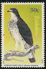 Zimbabwe 1984 Birds of prey f