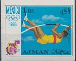 Ajman 1968 Olympic Games - Mexico l