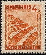 Austria 1946 Landscapes (II) a