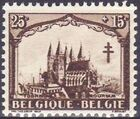 Belgium 1928 Anti Tuberculosis - Cathedrals b