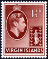 British Virgin Islands 1938 George VI and Seal of the Colony c.png