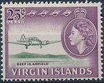 British Virgin Islands 1964 Queen Elizabeth II and Views k