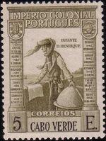 Cape Verde 1938 Portuguese Colonial Empire r