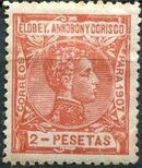 Elobey, Annobon and Corisco 1907 King Alfonso XIII l