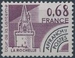 France 1979 Historic Monuments - Pre-cancelled (1st Issue) a
