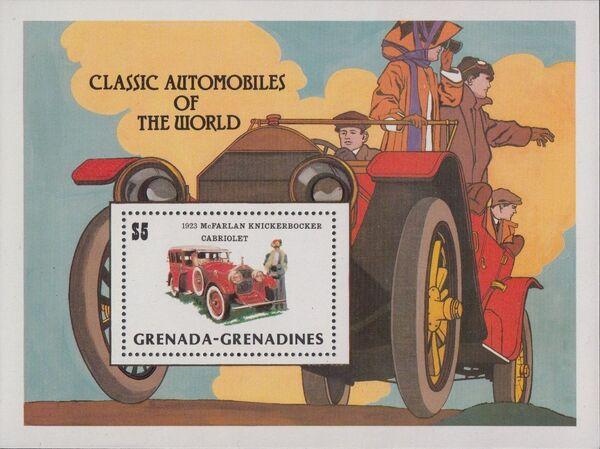 Grenada Grenadines 1983 The 75th Anniversary of Ford T SSa