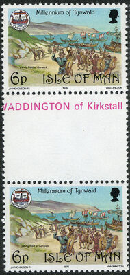 Isle of Man 1979 1000th Anniversary of the Tynwald Parlament GPd
