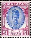 Malaya-Kedah 1950 Definitives m