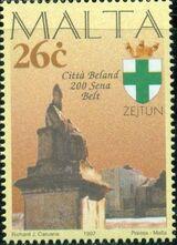 Malta 1997 Maltese City Anniversaries c