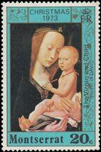 Montserrat 1973 Christmas a