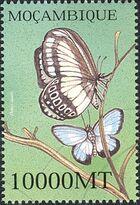 Mozambique 2002 Butterflies r